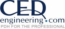 CED Engineering Logo: Online PDH Continuing Education Provider for Professional Engineers